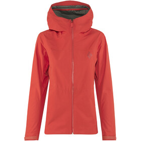 Black Diamond Liquid Point Jacket Women red